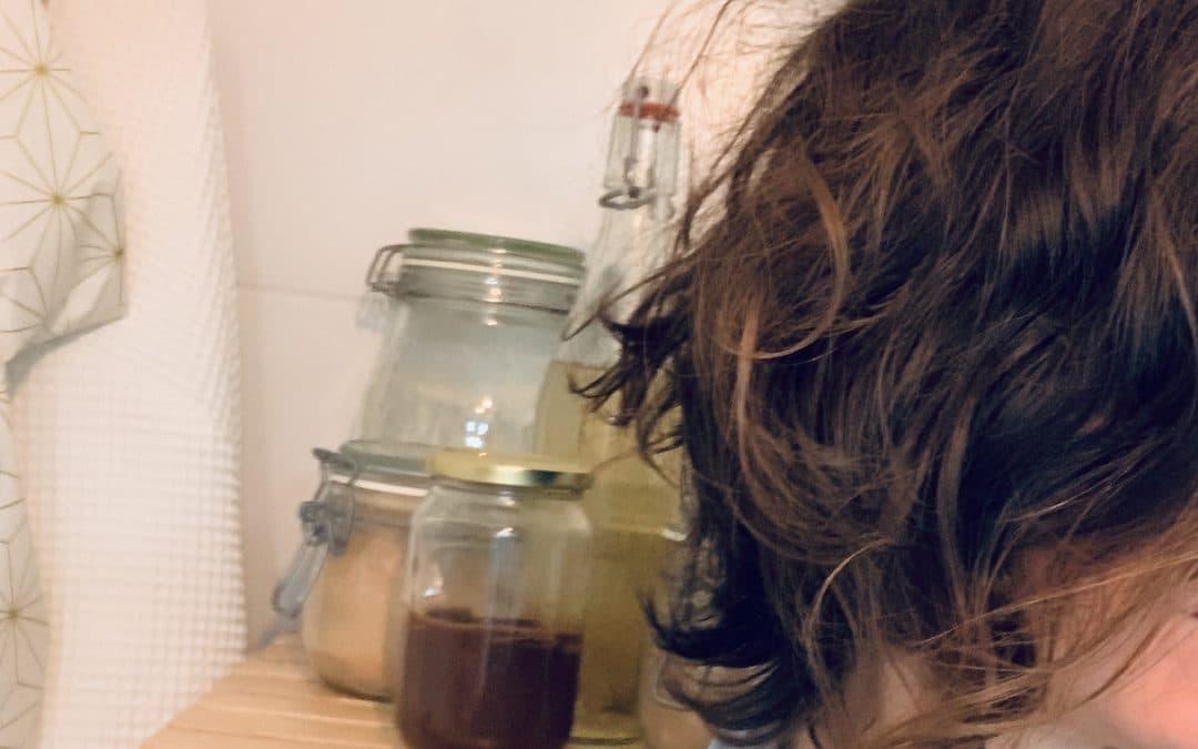 Recette de laque cheveux écologique 100% naturelle