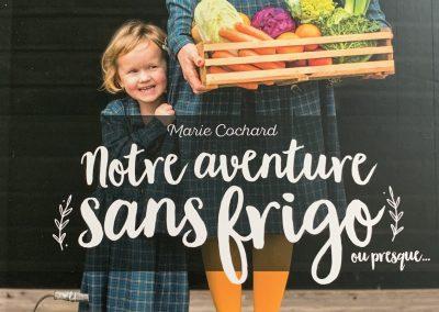 Livre : Notre Aventure Sans Frigo